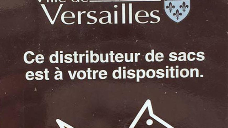 Versailles – Gare aux Crottes !